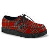 CREEPER-603 Red Plaid Fabric